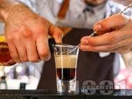 B52 коктейл / шот с кафеен ликьор калуа, бейлис и гран марние
